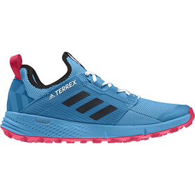 buy popular f50d4 3e131 adidas TERREX Agravic Speed+ - Chaussures running Femme - rose bleu